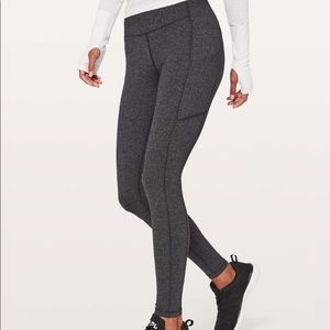 Lululemon Speed Up tights Herringbone Size 6